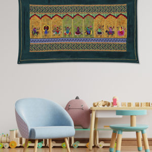 """Exclusive Handcrafted """"Stree"""" Wall Tapestry"""