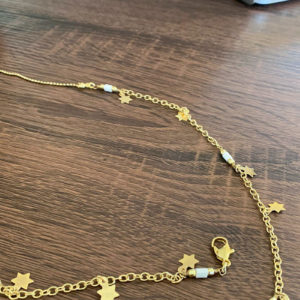 Twinkling Star Mask Chain